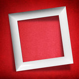 Modern empty frame Royalty Free Stock Images