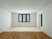 Modern empty interior 3D rendering Stock Photo