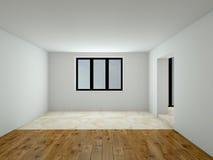 Modern empty interior 3D rendering Stock Photo