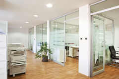 Modern Empty Office Interior Stock Image