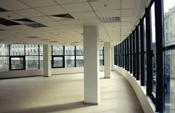Modern empty business office space