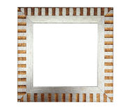 Modern empty picture frame Royalty Free Stock Photos