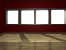 Modern empty room Royalty Free Stock Photos