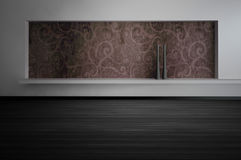 Modern Empty Room   Architecture Interior Royalty Free Stock Photos