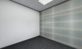 Modern Empty Room, 3D render interior design, mock up illustrati. On Stock Image