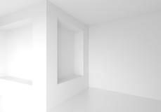 Modern Empty Room. 3d Rendering Stock Images