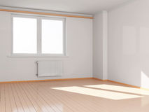 Modern Empty Room Interior Royalty Free Stock Images