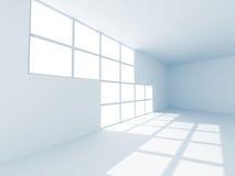 Modern Empty Room Interior Background. 3d Render Illustration Stock Photo
