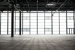 Modern empty show room Royalty Free Stock Photos