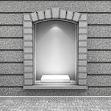 Modern Empty Store Front Royalty Free Stock Image