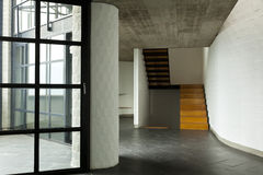 Modern empty villa Royalty Free Stock Image