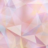 Modern en in geometrisch patroon. EPS10 Royalty-vrije Stock Afbeelding