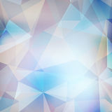 Modern en in geometrisch patroon. EPS10 Royalty-vrije Stock Fotografie