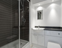 Modern en-suite Stock Photo