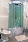 Modern en suite bathroom royalty free stock photos