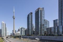 Modern en Toronto die - schitteren Stock Afbeeldingen