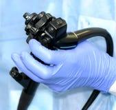modern endoscopehantering Arkivbilder
