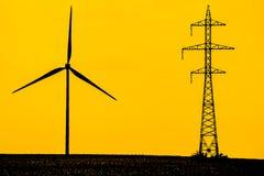 Modern energi Arkivbilder