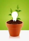 Modern energy saving Royalty Free Stock Image