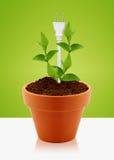Modern energy saving Stock Image