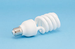 Modern energy saving bulb Royalty Free Stock Photography
