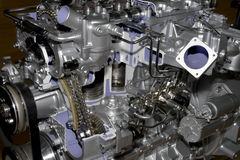 Modern engine Stock Photography
