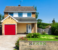 Modern english house Royalty Free Stock Photo