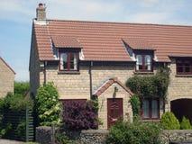 Modern English House royalty free stock photography