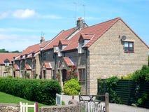 Modern English Housing estate Stock Photo