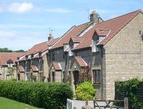 Modern English Housing estate Royalty Free Stock Image