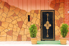 Modern Entrance. Modern front entrance and traditional Stock Images