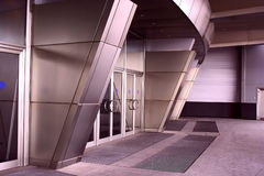 Modern architecture entrance royalty free stock image