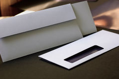Modern envelope Royalty Free Stock Images