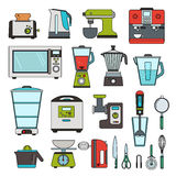 Modern equipment for kitchen Royalty Free Stock Photo