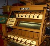 Modern equipment for sorting of tea,tea factory Royalty Free Stock Photo