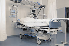 Modern equipped intensive care room Royalty Free Stock Image