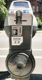 Modern Era Parking meter Stock Image