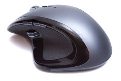 Modern Ergonomic Mouse isolated. On the white background royalty free stock photography