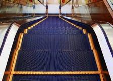 Modern escalator inside, urban abstract background Stock Photography