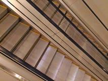 Modern escalator in the Mall Stock Photo