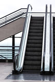 Modern escalator Stock Image