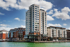 Modern estate Millennium Tower Dublin Stock Images