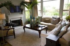 Modern estate living Royalty Free Stock Images