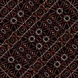 Modern Ethnic Geometric Pattern Stock Image