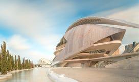 Free Modern European Architecture, Valencia Royalty Free Stock Image - 43337166