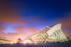 Modern european architecture, Valencia. Modern european architecture and museum, Valencia Spain Royalty Free Stock Images
