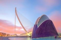 Modern european architecture, Valencia Stock Photography