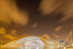 Modern european architecture, Valencia Stock Photos
