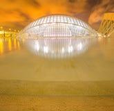 Modern european architecture, Valencia Stock Image