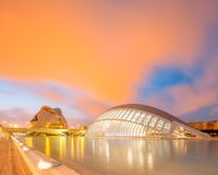 Modern european architecture, Valencia Stock Images